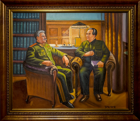 Сталин и Мао | Stalin and Mao | Despots | Тираны | art.vin | Artmagic | Артмагия