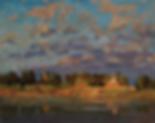 гаснет небосклон   сысоев   painting