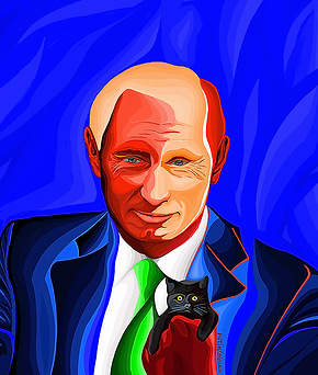 Кот Обама | Cat Obama | Василий Сидорин | Vasily Sidorin | Humor | юмор | art.vin | Artmagic | Артмагия