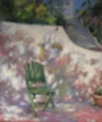 зелёный стул | Ирина Сергеева | Абстракция | art.vin | Artmagic | Артмагия