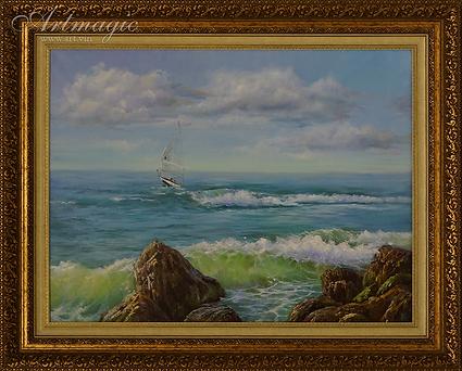 Море | Ирина Поцелуева | купить картину маслом | пейзаж | купить пейзаж | купить картину в москве | Артмагия | Artmagic | artvin