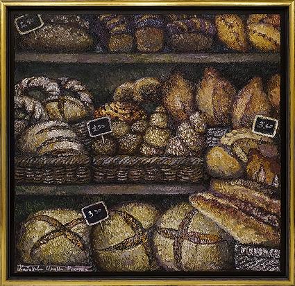 Пекарня | хлеб | Ирина Кабанова | Irina Kabanova | Still life | Натюрморт | art.vin | Artmagic | Артмагия
