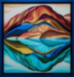 ОТРАЖЕНИЕ | ВАСИЛИЙ СИДОРИН | ГОРЫ | Василий Сидорин | VASILY SIDORIN | sidorin.info | Artmagic