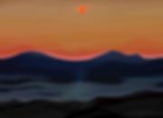 Закат | Sunset | volnism | купить картину в Москве | в интерьере