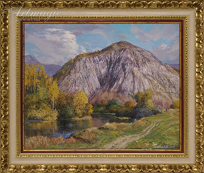 Шихан | Алексей Петриков | Alex Petrikov | Landscape | пейзаж | природа | art.vin | Artmagic | Артмагия