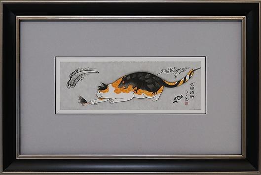 Охотник | Kazuaki Kitamura Horitomo | Cat | Котики | art.vin | Artmagic | Артмагия