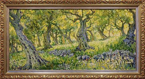 Оливковый лес | olive forest | Дмитрий Сысоев | Dmitry Sysoev | Landscape | пейзаж | art.vin | Artmagic | Артмагия