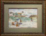 Italian women collecting water | victorian painting | Городской пейзаж | art.vin | Artmagic | Артмагия