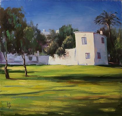 Белый дом | кипр | Ирина Сергеева | Абстракция | art.vin | Artmagic | Артмагия