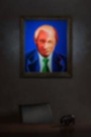 В. В. Путин | Василий Сидорин | В интерьере | art.vin
