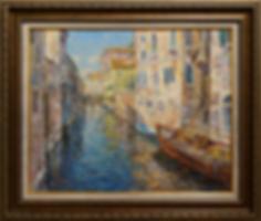 Венеция 1 | Антон Колоколов | пейзаж | работы художника | кпить картину в Москве | Artmagic | Артмгия | artvin