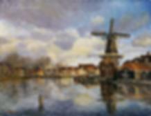 Мельница в харлме | пейзаж | Артмагия | купить картину | Artmagic | artvin