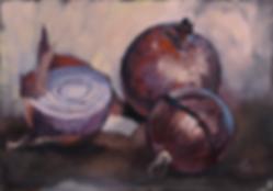 ирина сергеева | красный лук | натюрморт | купить картину в москве | купить натюрморт в москве | артмагия | art.vin