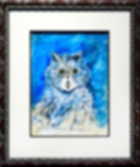 How terribly lowering | Louis Wain | Cat | Котики | art.vin | Artmagic | Артмагия
