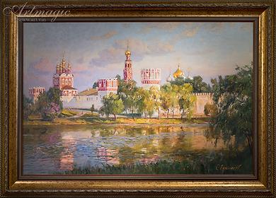 Новодевичий монастырь  | Викентий Лукиянов | Виды Москвы | art.vin | Artmagic | Артмагия