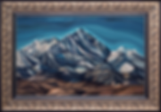 Эверест | Everest | Василий Сидорин | VASILY SIDORIN | картина маслом | sidorin.info | Artmagic
