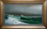 Чайка над волнами | Сергей Лим | художник-маринист | купить морской пейзаж | купить картину маслом | купить картину с морем | Артмагия | Artmagic | artvin