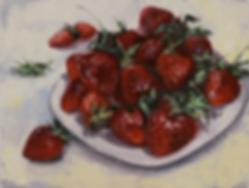Клубника 2018  | Ирина Сергеева | Абстракция | art.vin | Artmagic | Артмагия