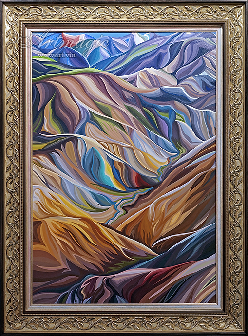 Исландия | Василий Сидорин | VASILY SIDORIN | картина маслом | sidorin.info | Artmagic