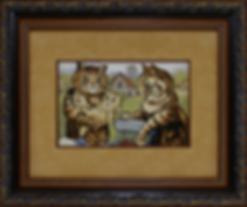 Семейные ценности | Louis Wain | Cat | Котики | art.vin | Artmagic | Артмагия