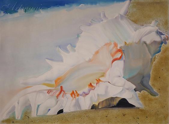 ракушка | seashell | Михаил Балавадзе | Mihail Balavadze | грузинский худодник | купить картину в Москве | Артмагия | Artmagic | art.vin