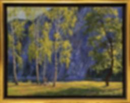 Голубая скала | Пикник | Алексей Петриков | Alex Petrikov | Landscape | пейзаж | природа | art.vin | Artmagic | Артмагия