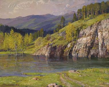 весна юрюзань  | горы | Алексей Петриков | Alex Petrikov | Landscape | пейзаж | природа | art.vin | Artmagic | Артмагия