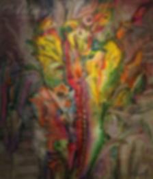 Экзотика 4   Антон Колоколов   пейзаж   работы художника   кпить картину в Москве   Artmagic   Артмгия   artvin