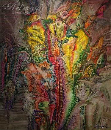 Экзотика 4 | Антон Колоколов | пейзаж | работы художника | кпить картину в Москве | Artmagic | Артмгия | artvin
