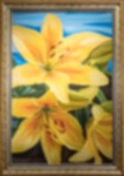 Это Вам не цветочки | лилии | Василий Сидорин | VASILY SIDORIN | sidorin.info | Artmagic