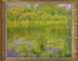 Кувшинки | Утро на реке | Дмитрий Сысоев | Dmitry Sysoev | Landscape | пейзаж | art.vin | Artmagic | Артмагия