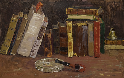 старые книги   Елена Вилков   Натюрморт   купить картину в москве   Артмагия   Artmagic   artvin
