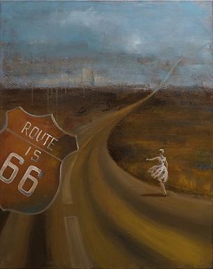 Трасса 66 | Ирина Сергеева | Абстракция | art.vin | Artmagic | Артмагия