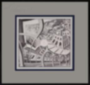 Выставка гравюр   Мауриц Эшер   M.C. Esher   art.vin   Artmagic   Артмагия
