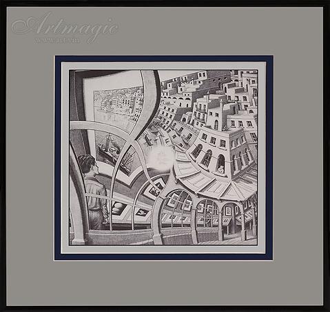 Выставка гравюр | Мауриц Эшер | M.C. Esher | art.vin | Artmagic | Артмагия