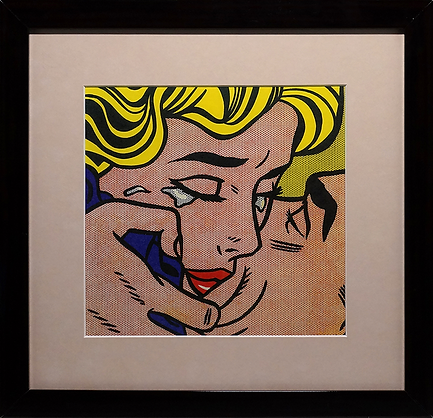 Поцелуй | kiss II | Рой Лихтенштейн | Roy Lichtenstein | Cuite | Милашки | art.vin | Artmagic | Артмагия