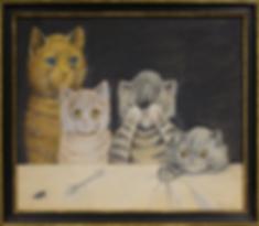 То, что мы получили | Louis Wain | Cat | Котики | art.vin | Artmagic | Артмагия
