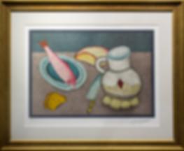 Натюрморт с рыбой | шедевр | Михаил Шемякин | Michail Shemyakin | Still life | Натюрморт | art.vin | Artmagic | Артмагия