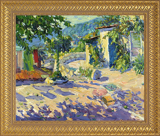 Южный дом | Солнечный день | Southern house | Дмитрий Сысоев | Dmitry Sysoev | Landscape | пейзаж | art.vin | Artmagic | Артмагия