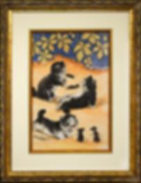 Кошки-мышки | Louis Wain | Cat | Котики | art.vin | Artmagic | Артмагия