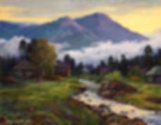 У ПОДНОЖЬЯ ГОРЫ ИРИМЕЛЬ  | горы | Алексей Петриков | Alex Petrikov | Landscape | пейзаж | природа | art.vin | Artmagic | Артмагия