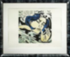 Утопленица | Тонущая девушка | Drowning girl | Рой Лихтенштейн | Roy Lichtenstein | Cuite | Милашки | art.vin | Artmagic | Артмагия