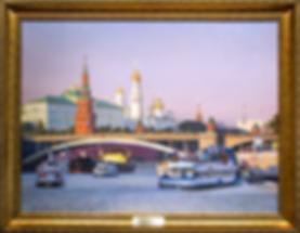 Москва Златоглавая | Владимир Чёрный | Городской пейзаж | art.vin | Artmagic | Артмагия