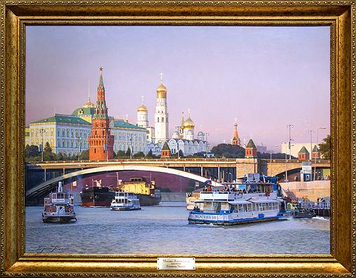 Москва Златоглавая | Владимир Чёрный | Виды Москвы | art.vin | Artmagic | Артмагия