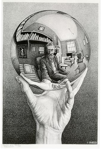 Рука, держащая сферическое зеркало | selfie | селфи | Мауриц Эшер | M.C. Esher | art.vin | Artmagic | Артмагия