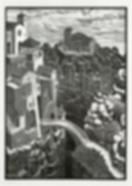 Мост | M.C. Escher | Городской пейзаж | art.vin | Artmagic | Артмагия