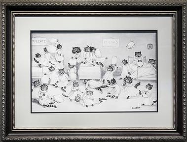 Подушки | Louis Wain | Cat | Котики | art.vin | Artmagic | Артмагия