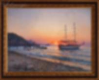 Утро на море | Викентий Лукиянов | купить картину маслом | морской пейзаж | морской пейзаж купить | купить картину в Москве | Артмагия | Artmagic | art.vin