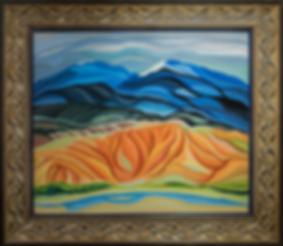 Мексика | Mexico | Vasily Sidorin | Василий Сидорин | Артмагия | пейзаж | купить картину в москве | купить картину | art | art gallery | artvin | Artmagic | exclusive | эксклюзив | волнизм