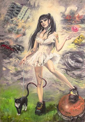 Pandora | Ирина Сергеева | Абстракция | art.vin | Artmagic | Артмагия